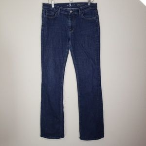 7FAM 7 For All Mankind High Waist Bootcut Jeans